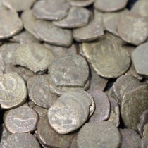 Mainly Nabataean coins (Cleaned)